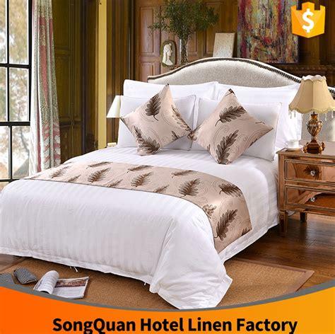 cina guangzhou pabrik tekstil katun putih strpe star hotel
