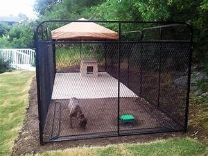 dog fences for outside style the wooden houses With best outdoor dog kennel for large dogs