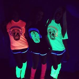 12 best GLOW PARTY images on Pinterest | Glow party Halloween costumes and T shirts