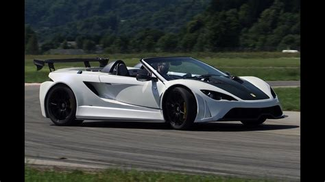 Slovenia's First Supercar Tested