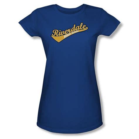 Archie <b>Shirt</b> Juniors <b>Riverdale</b> High School Royal Blue T-<b>Shirt</b> - Archie <b>Riverdale</b> High School <b>Shirts</b>