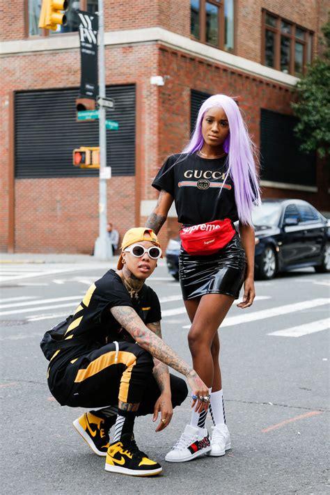 streetfashion  york womenswear ss day  team