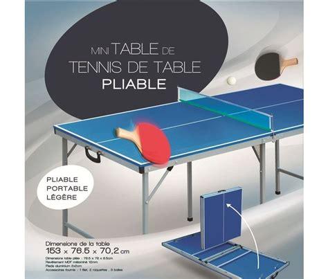 table de ping pong pliante 8665