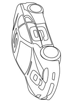 Three Different Race Car Coloring Page Free & Printable