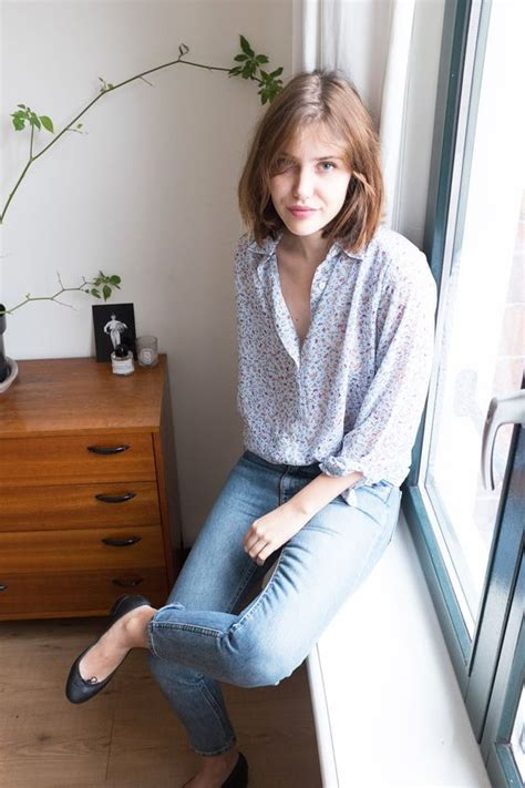 picture  jeans  flats outfit