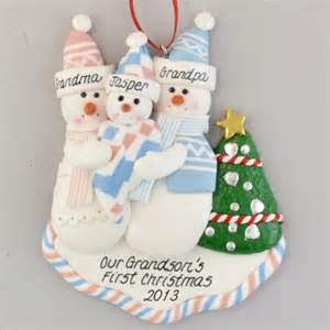 first grandchild personalized christmas ornament calliope designs