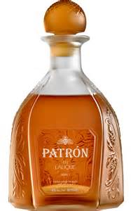 PATRON EN LALIQUE LIMITED EDITION TEQUILA