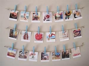 Fil Accroche Photo : p le m le photos faire soi m me un cadeau personnalis ~ Premium-room.com Idées de Décoration