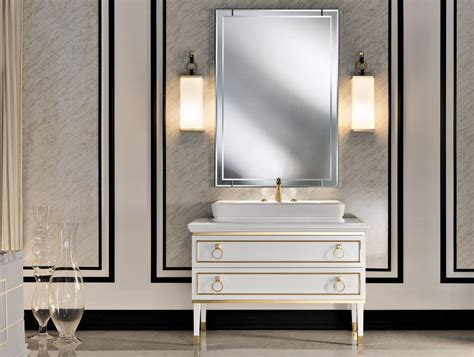 lutetia l6 high end italian bathroom furniture in white