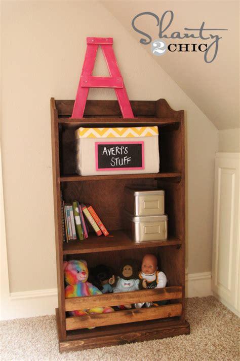 Kid Bookcase Storage by White Storage Bookshelf Diy Projects