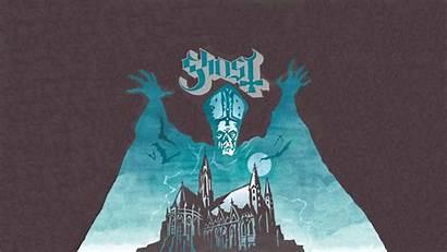Ghost Band Metal Artwork Wallpapers Album Poster