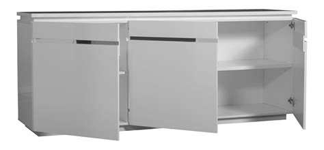 High Gloss White Sideboard by Logan Sideboard White High Gloss 3 Door With Lights