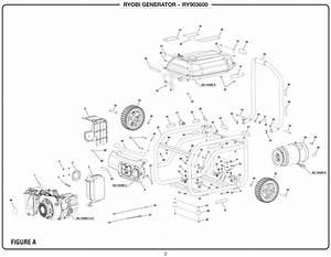 Ryobi Inverter Generator Wiring Diagram  Electrical  Schematic Symbols Diagram