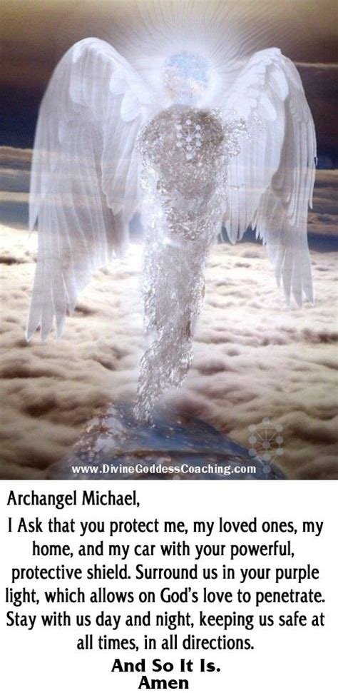 simple prayer  protection  archangel michael