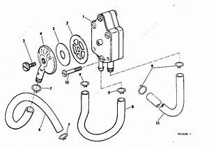 Evinrude 1968 85 - 85893a  Fuel Pump Group