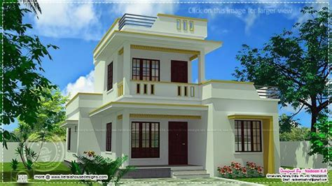Flat Roof Small Houses Simple Flat Roof House Design, Home