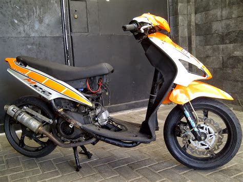 Modif Mio J by Mio J Modifikasi Road Race Thecitycyclist