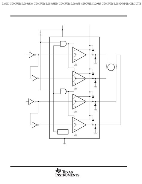 schematics components within a triangle in an