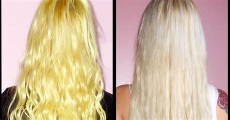 jodies world passer du jaune au blond platine