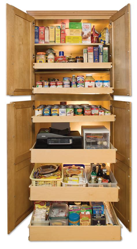 kitchen cabinet organizers pull out shelves shelfgenie of denver pull out pantry shelves create more 9125