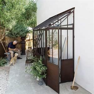 Serre Maison Du Monde : demi serre en m tal effet rouille h 245 cm serre ~ Premium-room.com Idées de Décoration