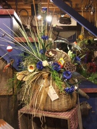 fishing themed funeral arrangement bing images funeral