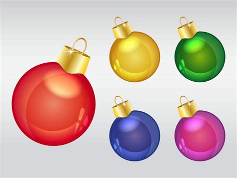 christmas ornaments vector ornaments vector graphics freevector