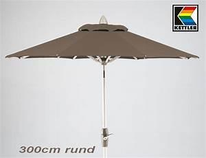 Kettler Sonnenschirm 300 : kettler hks sonnenschirm 300cm rund 4080 580 champ mocca eur 98 55 picclick de ~ Eleganceandgraceweddings.com Haus und Dekorationen