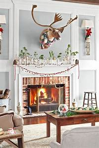 Christmas, Mantel, Decorating, Ideas, To, Make, It, Look, Incredibly, Cozy