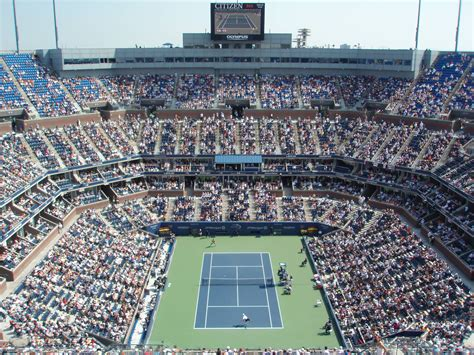 Image result for arthur ashe stadium