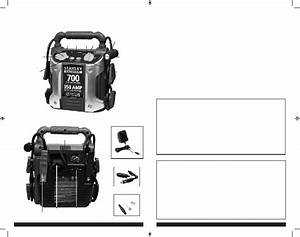 Stanley 350 Amp Remote Starter Instruction Manual Pdf View