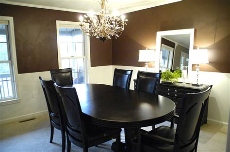 Chocolate Brown Dining Room Archives  Living Rich On