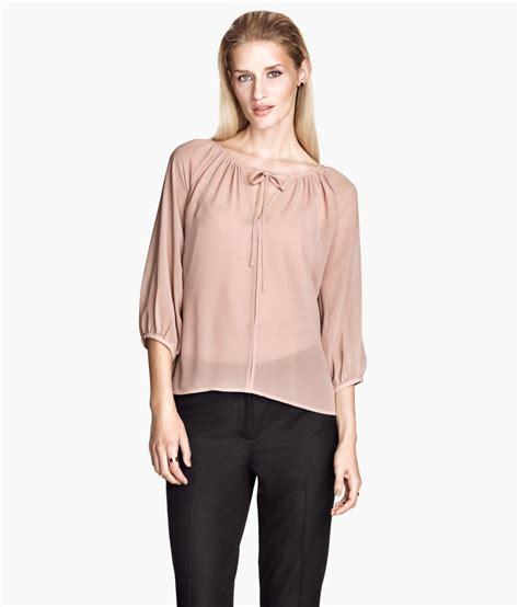 chiffon blouses h m pink chiffon blouse 39 s lace blouses