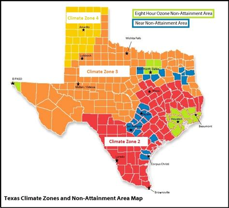 Texas Climate Zone Map Draw A Topographic Map