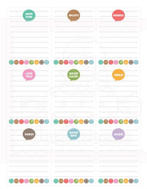 template  school lunch menu printable schedule template