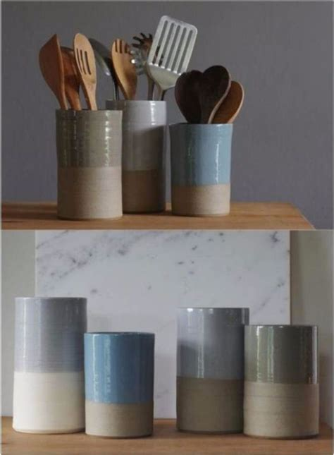 great diy kitchen utensil storage organization ideas