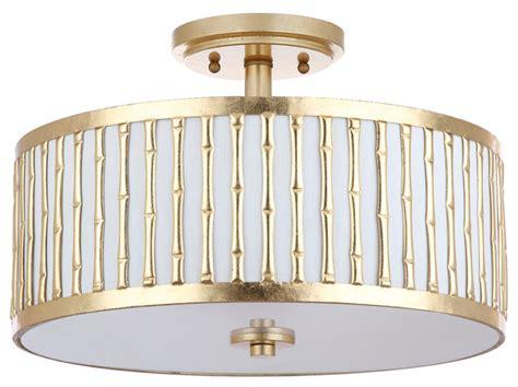 asian flush mount ceiling light safavieh pierce 3 light 15 25 quot dia flush mount asian