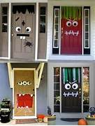 Halloween Party Ideas Monster Doors Goodtoknow Decor Home Exterior Designs Decorating Ideas HGTV Rate My Space Christmas Front Door Decoration Basket On Door Wreaths On Windows Decorating Ideas From Christmas Past And Christmas Future Mrs Hines