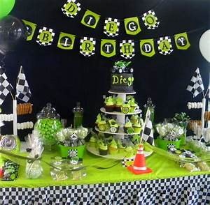 Motocross Party Theme Birthday Party Ideas Photo 2 of 7