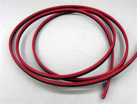 kabel schwarz rot led kabel 1 5 mm 178 1m litze 2 adrig schwarz rot kupfer