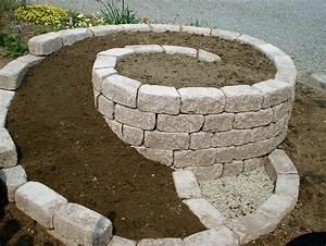 Steine Für Gartenmauer : obolith passende steine f r eine kr uterschnecke ~ Michelbontemps.com Haus und Dekorationen