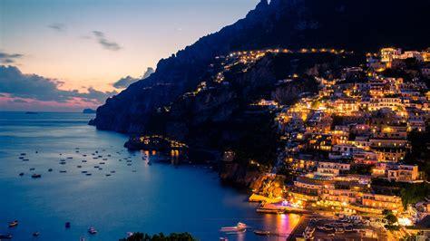 Amalfi Coast At Night-Cities HD Wallpaper Preview ...