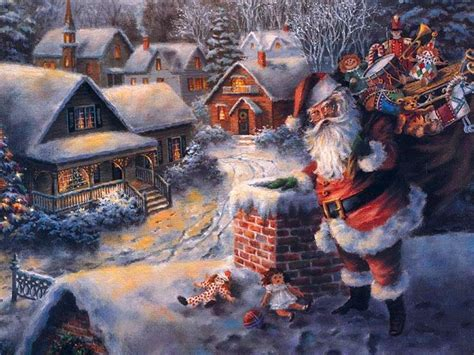 santa claus  christmas desktop wallpapers page