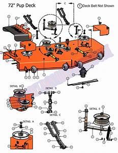 07pup72dk - 2007 Pup 72 Deck Assembly