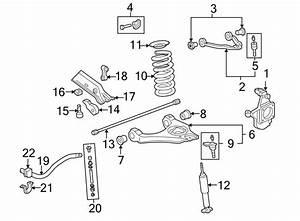 Gmc Sierra 1500 Hd Shock Absorber  Front   Suspension  Ton