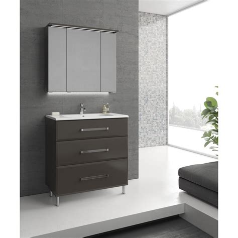 porte de cuisine brico depot meuble de salle de bains de 80 à 99 gris argent opale