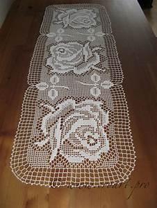 114 Best Crochet Table Runner  M U00f3c Kh U0103n Tr U1ea3i B U00e0n  Images