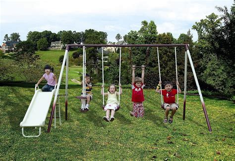 Sportspower Cameron 5-station Swing Set