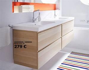 Meuble Vasque Ikea : meuble sdb double vasque digpres ~ Dallasstarsshop.com Idées de Décoration