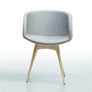 Chaise Scandinave Accoudoir : chaise scandinave grise midj avec accoudoirs sur cdc design ~ Teatrodelosmanantiales.com Idées de Décoration